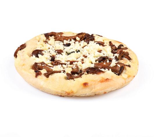 Pizzetta ai funghi