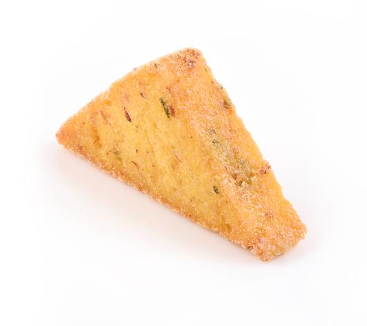 Triangoli di polenta da forno