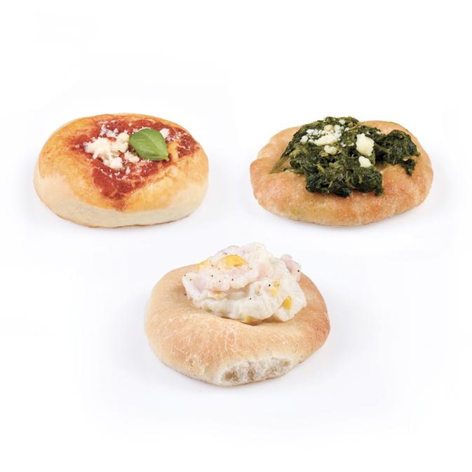 Pizzette misto terra